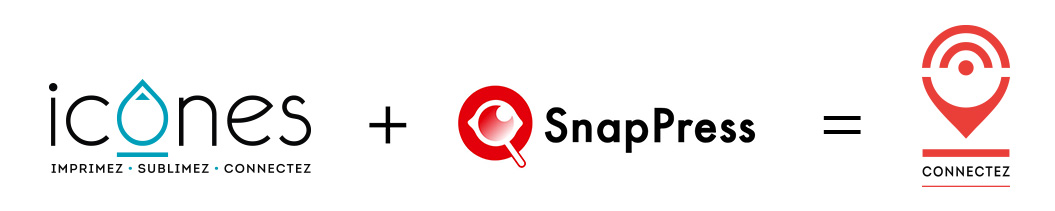 Icones + SnapPress = imprimé connecté