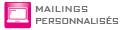 Mailings personnalisés